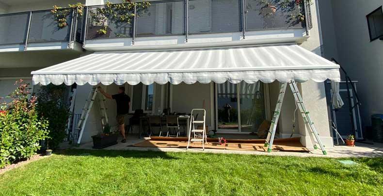 Posa e installazione tenda da sole foto 1