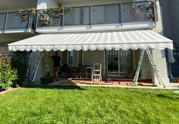 Posa tenda da sole in provincia di Monza